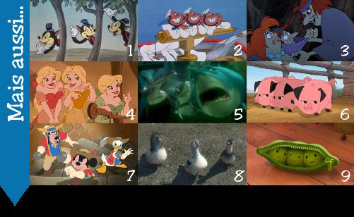 Personnages disney o les 10 trios de personnages - Requin enclume ...