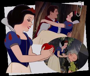 Personnages disney o blanche neige blanche neige et les - La princesse blanche neige ...