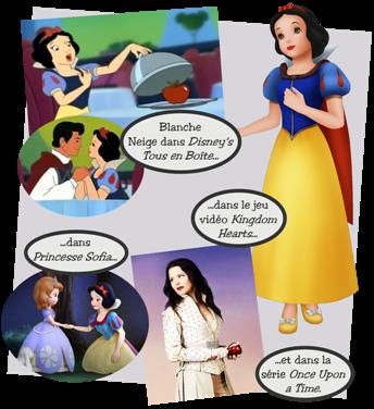 Personnages disney o blanche neige blanche neige et les sept nains - La princesse blanche neige ...